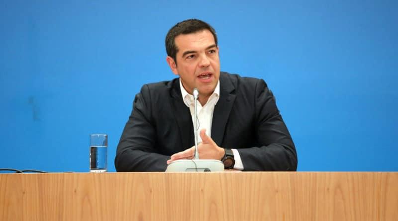 Alexis Tsipras grêce