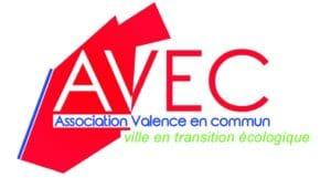 élections Municipales - logo de Valence en commun, ville en transition écologique.