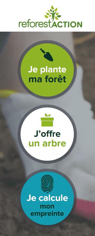 je plante ma forêt avec reforestaction