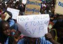 manifestation au mali en afrique