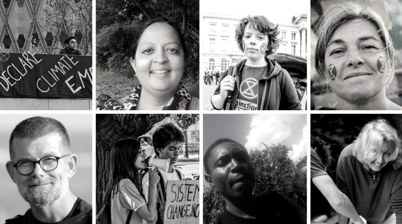 Portraits de militants écologistes à travers le monde
