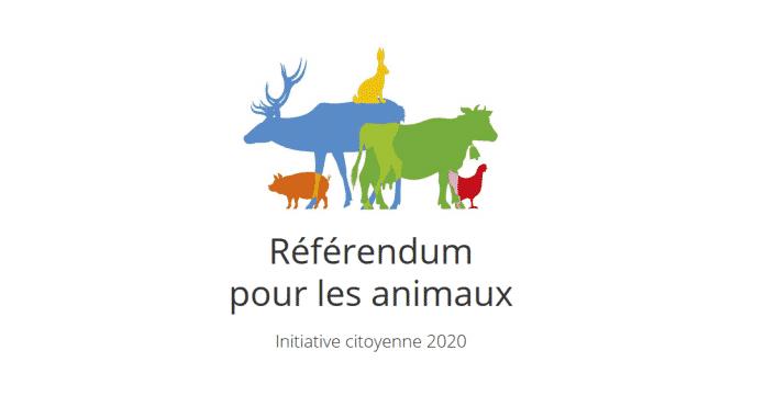 Lancement d'un Référendum pour les animaux
