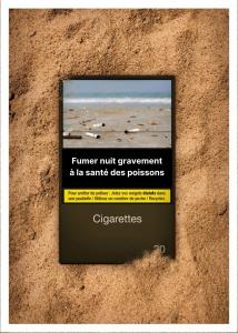 Fumer nuit gravement à la santé des poissons